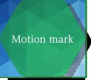 Motion mark